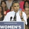 Obama apuesta por el voto femenino