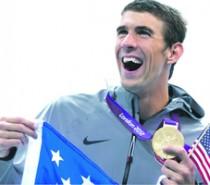 Michael Phelps afianza su sitio entre los íconos de Juegos Olímpicos