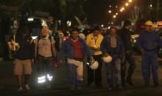 CRÓNICA: Noche en la sede de Pemex; lo que se dice y se escucha entre la gente va más allá de las declaraciones oficiales